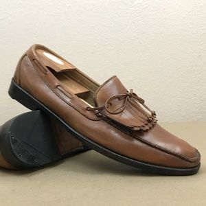 Allen Edmonds Alton Men's 12 Brown Kiltie Loafer